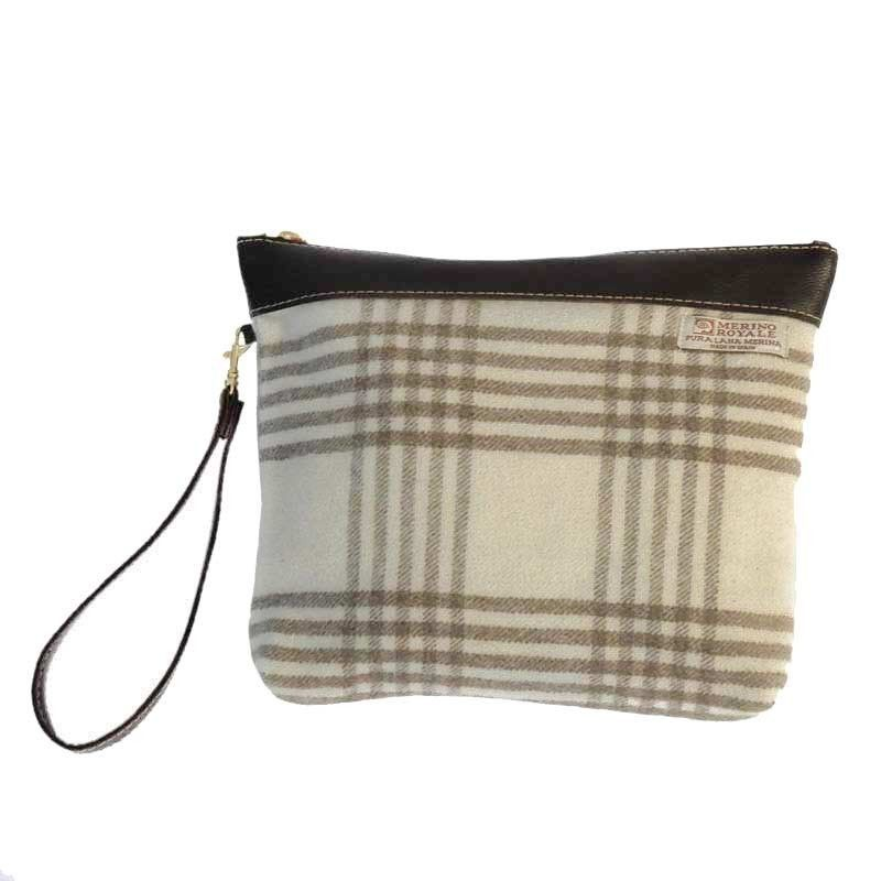 Handtasche Endrinal Wolltuch