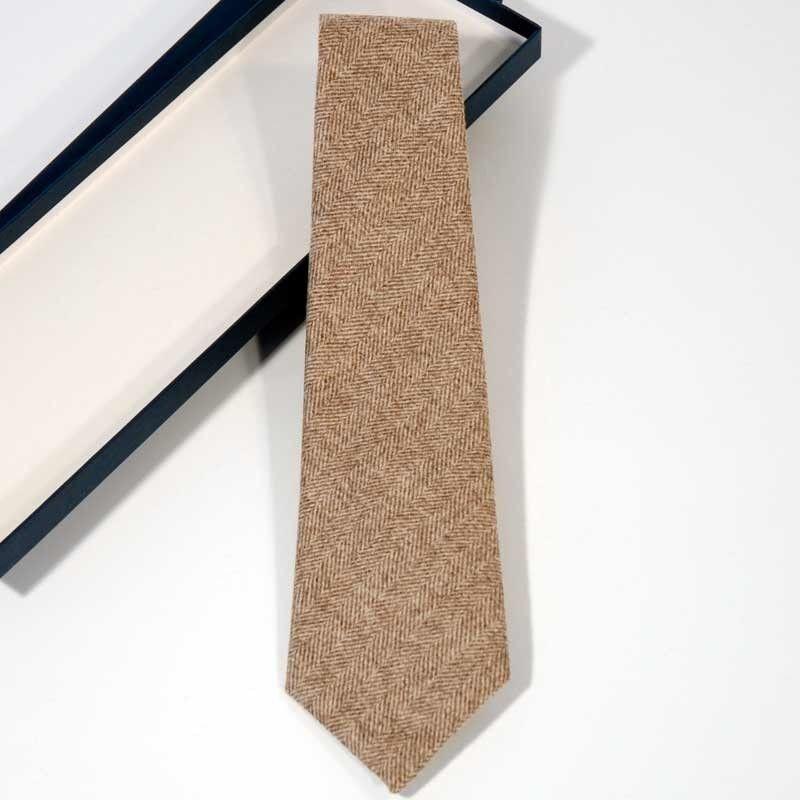 Krawatte Wolle Nerz