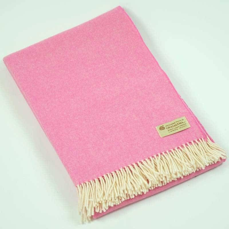 Sofadecke Pink