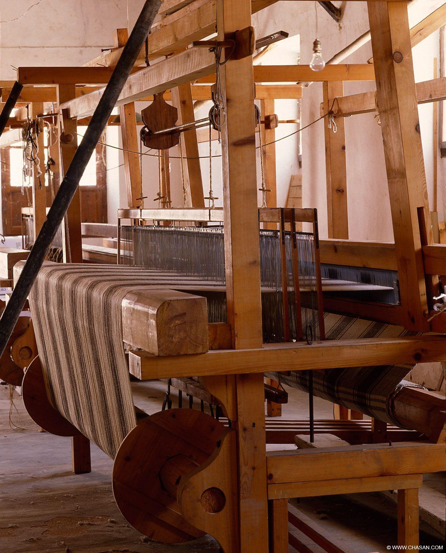 Telas de madera en Grazalema