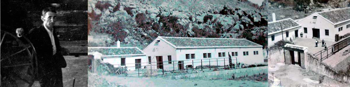 Vicente Narváez Bajón - Fábrica de Mantas construcción años 40