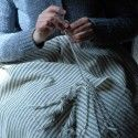 Wolldecke Handgefertigte Karierten