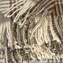Check Merino Blanket