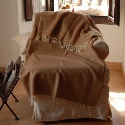 Sofa Throw Beige