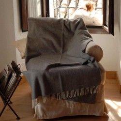 Light Grey Sofa Throw