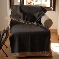 Dark Grey Sofa Throw