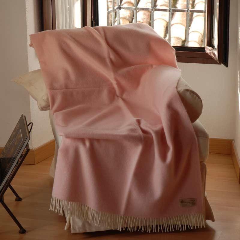 Manta sofá Rosa