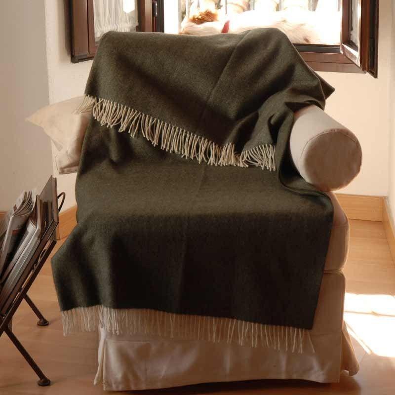 Sofa Throw Green