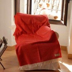 Decke Rotblond für couch