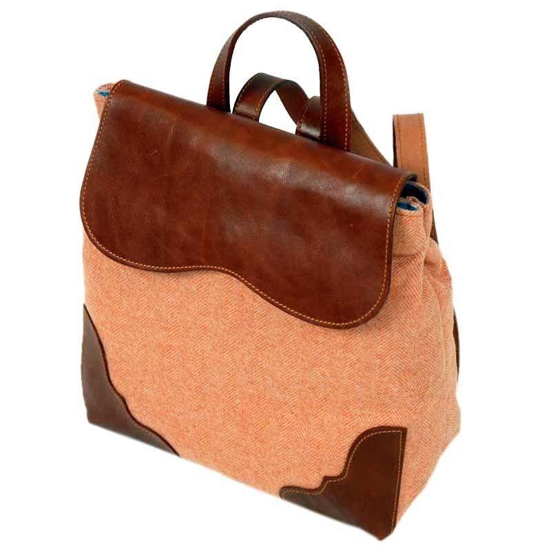 Orange Backpack Bag