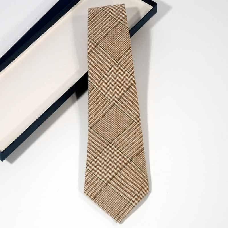 Krawatte Prince Wales Grün