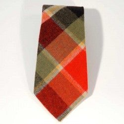 Check Tartan Tie