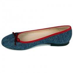 Bailarinas Azul Marino