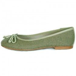 Green Ballerina Pumps