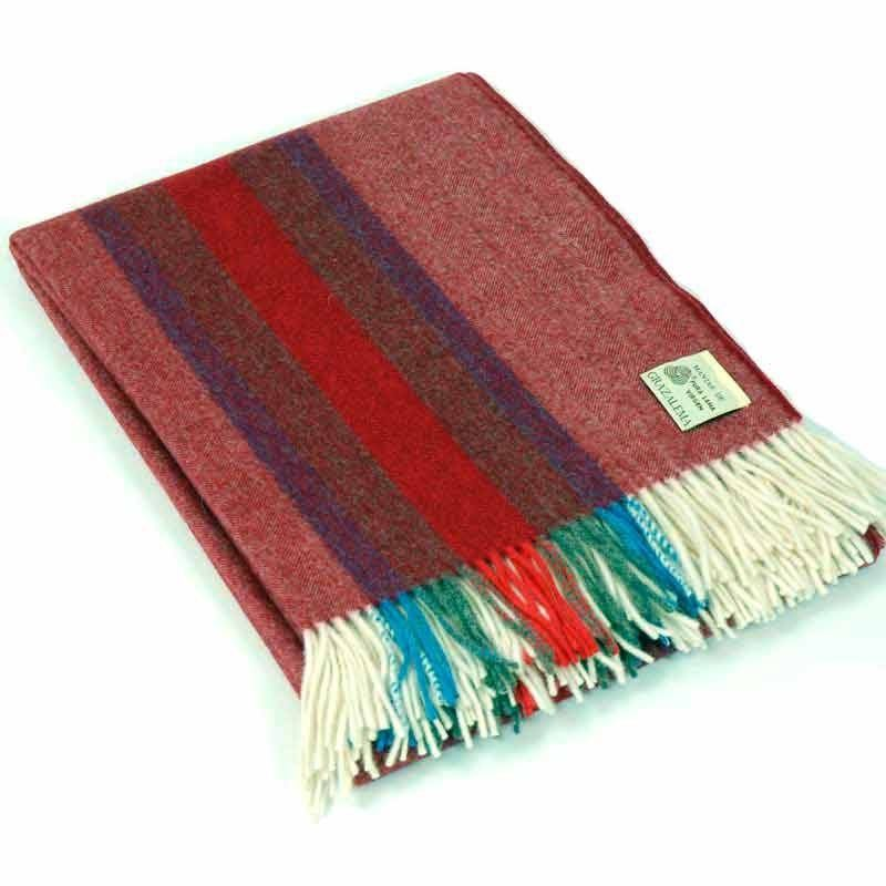 Marsala Travel Blanket