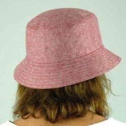 Burgundy Round Cap