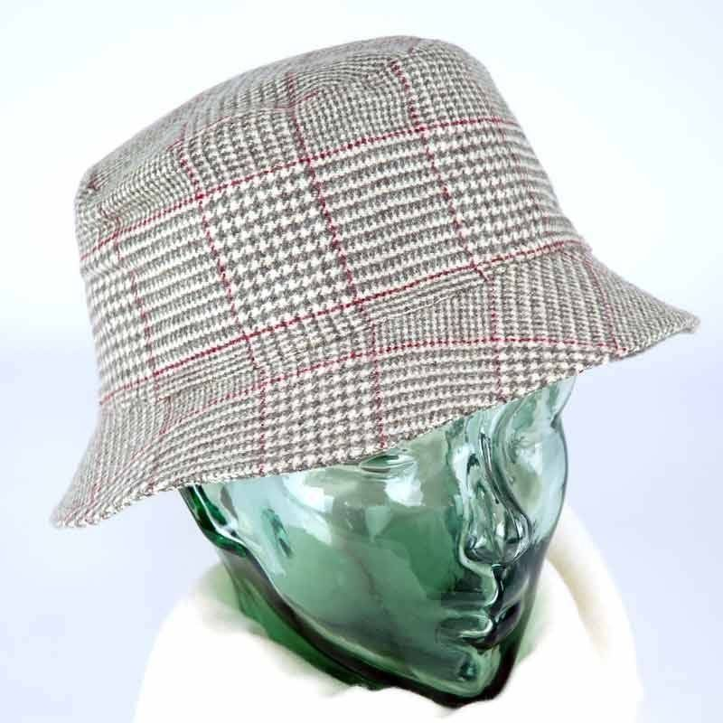 Wales Check Round Cap