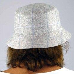 Grey Check Cap