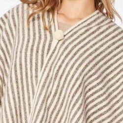 Stripes Poncho