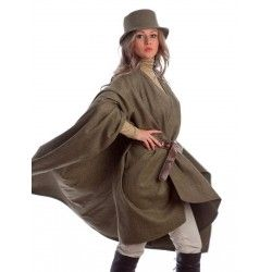 Khaki Large Cape