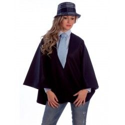 Blue Short Cape