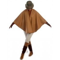 Camel Short Cape