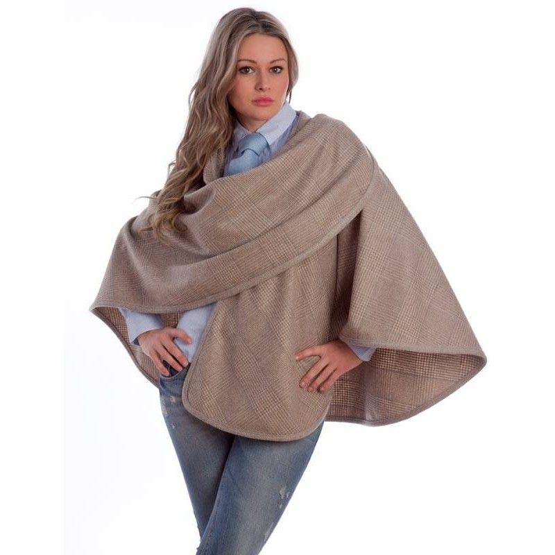 Wales blue Short Cape