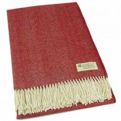 Decke Personalisiert Rot