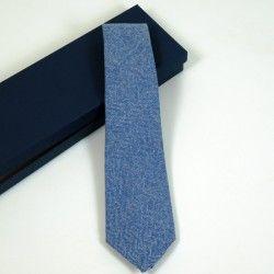 Wool Indigo Tie