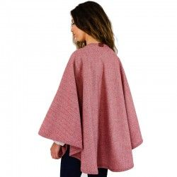 Burgundy Short Cape