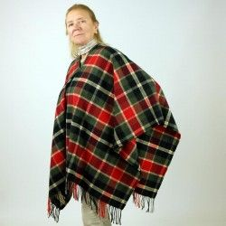 Scottish Poncho