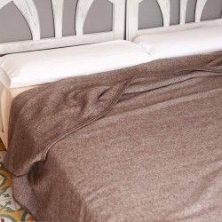 Brown Bed Throw Blanket