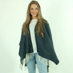 Blue Depths Cape Poncho