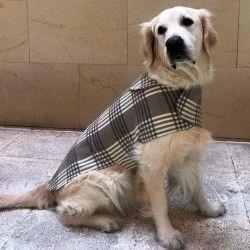 Karierte Hundemantel