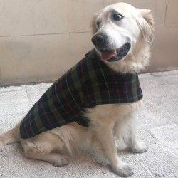 Hundemantel Schottenkaro