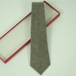 Wool Brown Tie