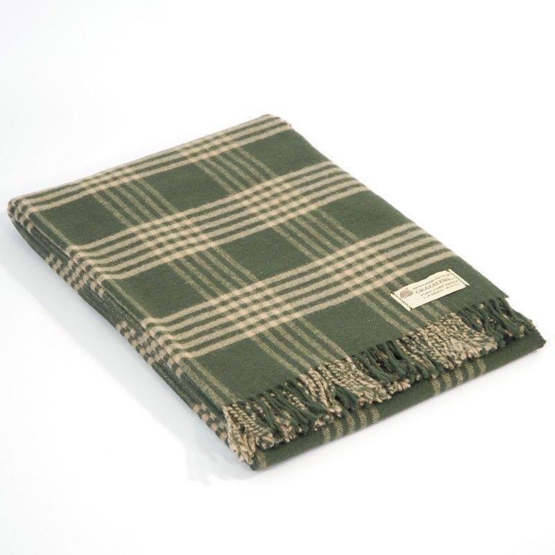 Green Check Blanket