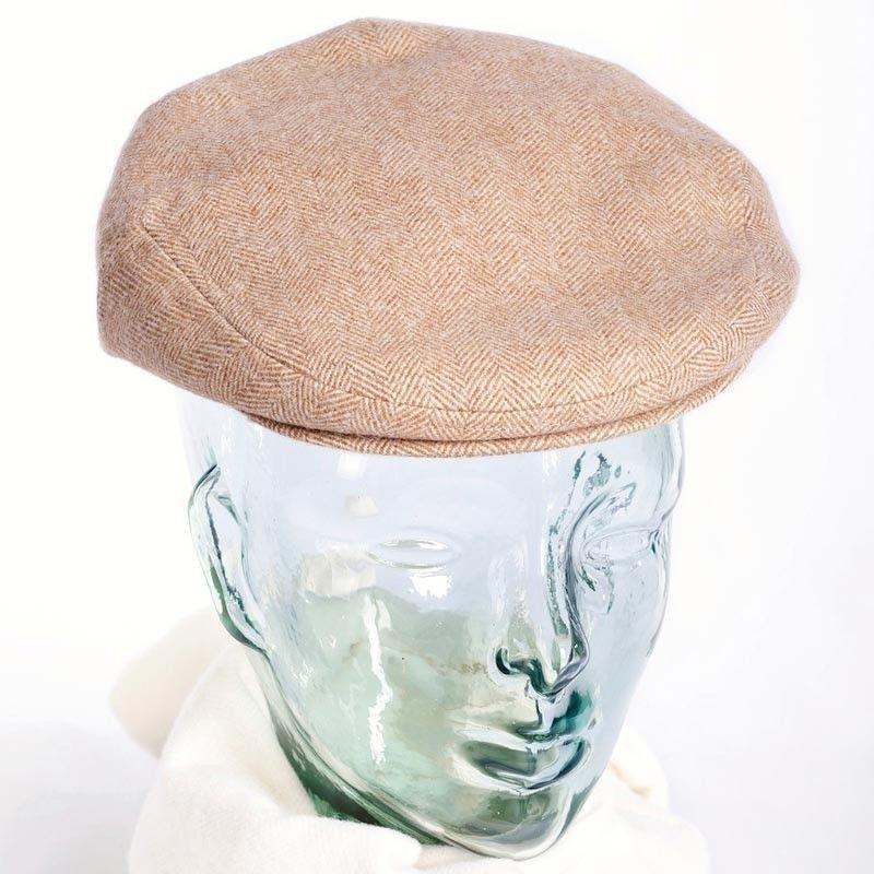 Camel Flat Cap