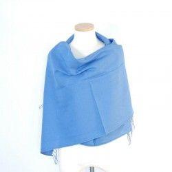 Blue Bamboo Shawl