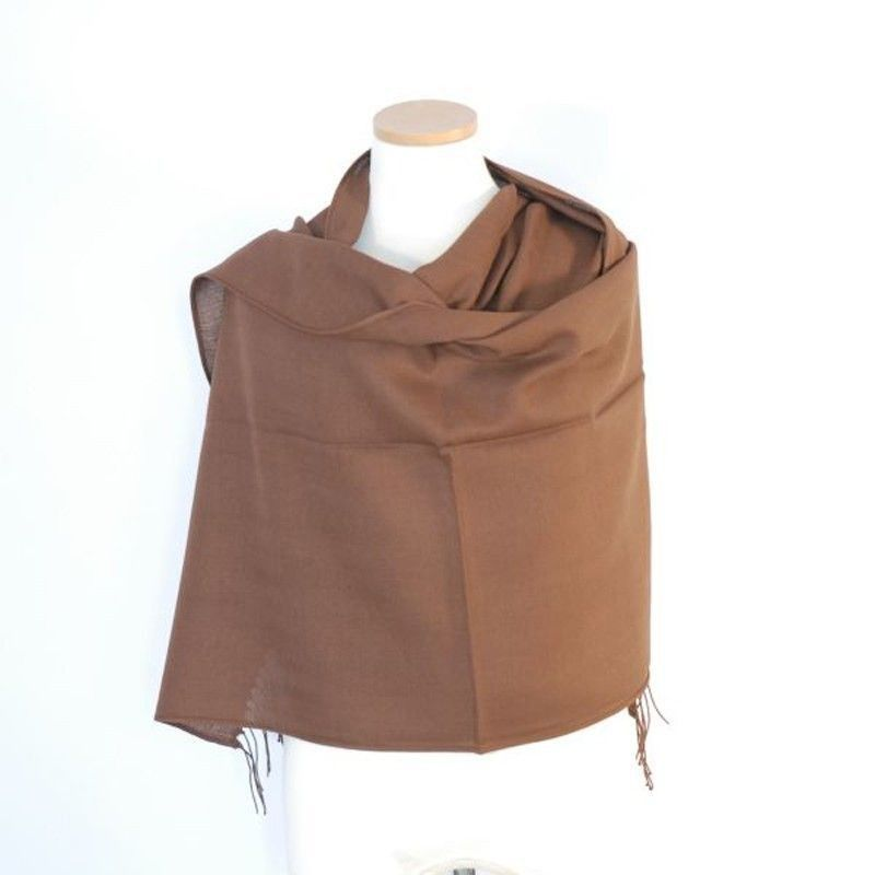 Brown Bamboo Shawl