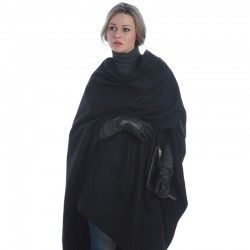 Black Large Cape