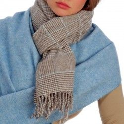 Prince Wales Blue Scarf
