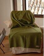 Throw Blankets & Merino Wool Plaids Sofa | GRAZALEMA