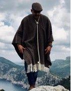 【Handmade Ponchos】 for Men & Women in Winter