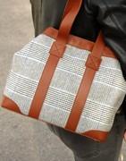 【Handtasche Damen Wolle & Leder Online】 GRAZALEMA