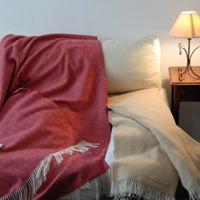 plaids sofa